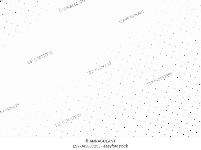 Abstract geometric pattern with small squares. Design element for web banners, posters, cards, wallpapers, backdrops, panels Black and white color Vector...