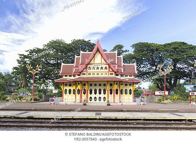The Royal Pavilion of Hua Hin train station, Hua Hin, Thailand