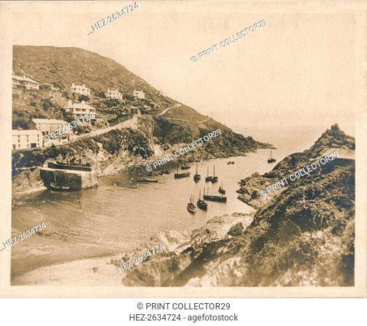 'Harbour Mouth - Polperro', 1927. Artist: Unknown