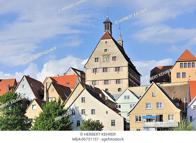 Germany, Baden-Wurttemberg, Old Town of Besigheim, town hall