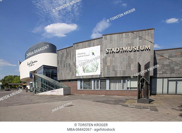 Horst-Janssen-Museum, town museum, Oldenburg, Lower Saxony, Germany, Europe