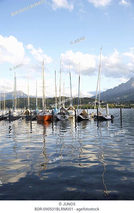 marina at Lake Lucerne