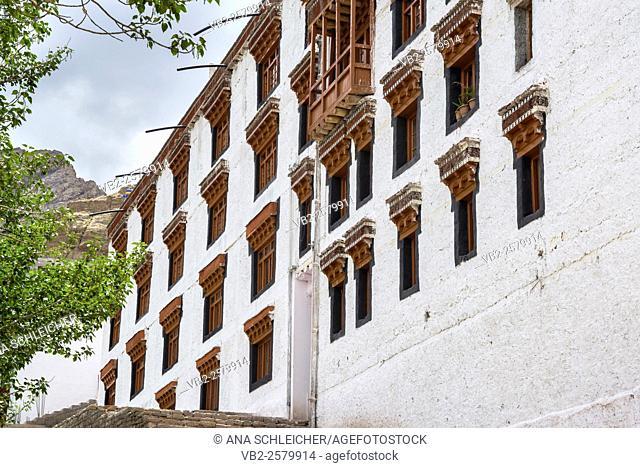 Main building of Hemis gompa. Indus valley, Ladakh (india)