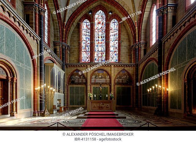 St. Petri Cathedral, altar, interior, Bremen, Germany