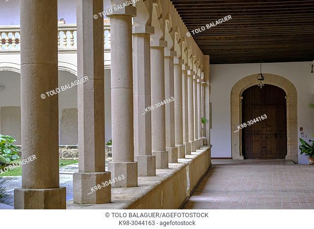 Monasterio de Santa Maria de la Real, 1229 , estilo gótico mediterráneo, Secar de la Real, Palma, Mallorca, balearic islands, Spain