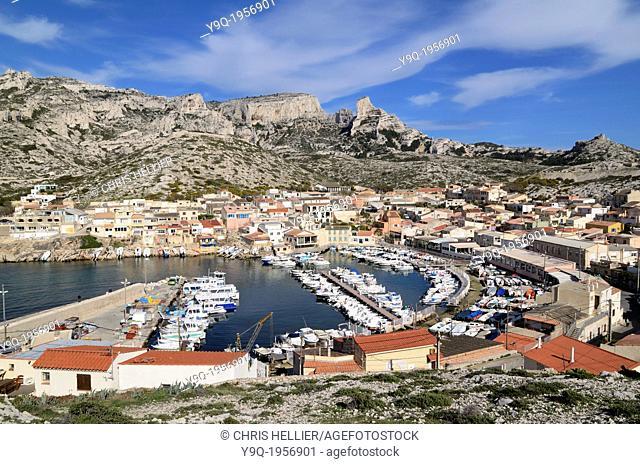 Les Goudes Marseille France