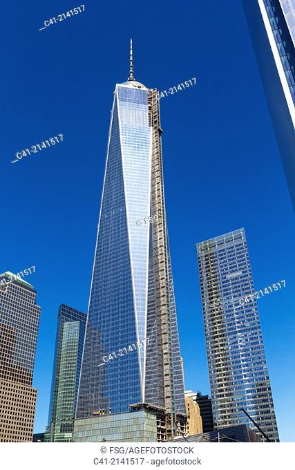Freedom Tower. New York City. NY, USA