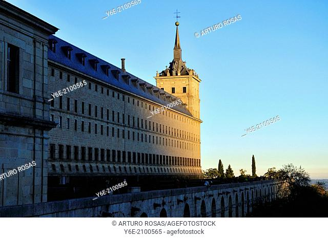 Monastery. San Lorenzo de El Escorial, Madrid. Spain