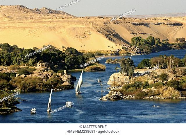 Egypt, Upper Egypt, Nubia, Nile Valley, Aswan, Nile River