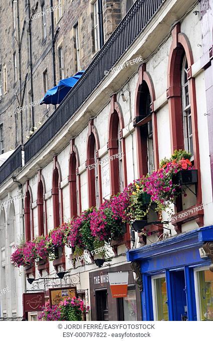 Candlemaker Row, Edinburgh, Scotland, United Kingdom, Europe