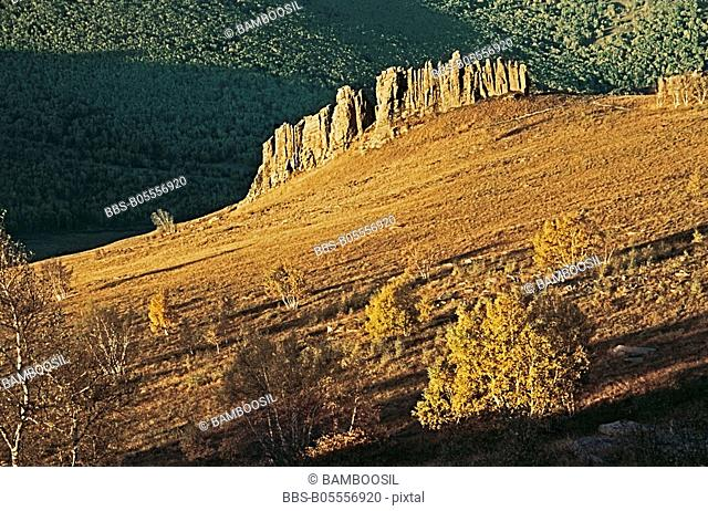Asihatu stone forest, Keshiketengqi, Chifeng City Inner Mongolia Autonomous Region of People's Republic of China