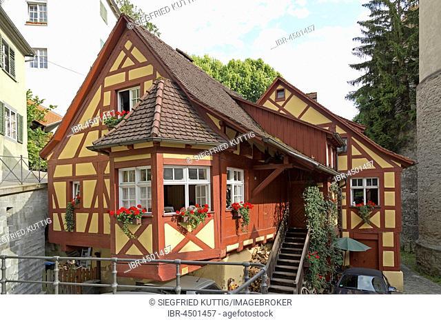 Schlossmühle Meersburg, Lake Constance, Baden-Wuerttemberg, Germany