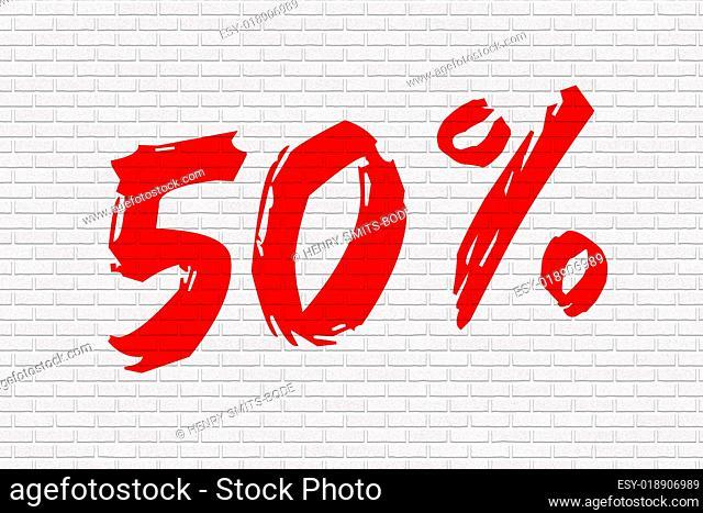 Mauer weiss 50%