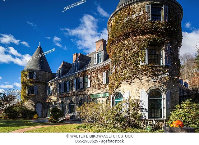 USA, Pennsylvania, Delaware Water Gap National Recreation Area, Milford, Grey Towers, home of Gifford Pinchot, first Chief Forester of the USA