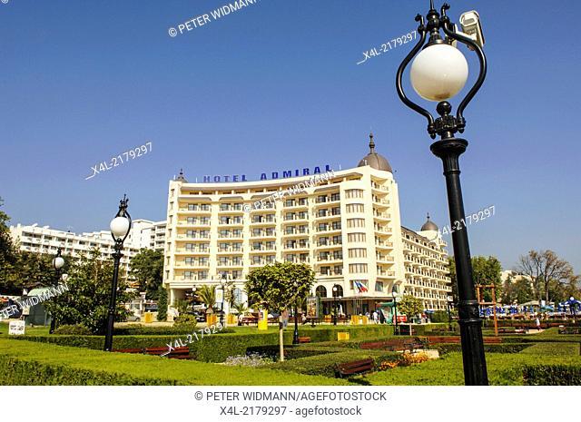 Golden Beach, Hotel Admiral, Bulgaria, Black Sea, Zlatni Pjasaci