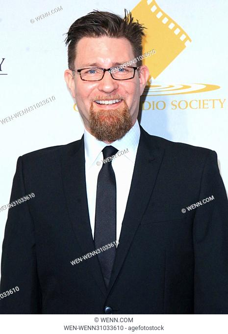 53rd Annual Cinema Audio Society (CAS) Awards at Omni Los Angeles Hotel at California Plaza - Arrivals Featuring: Chris Durfy Where: Los Angeles, California
