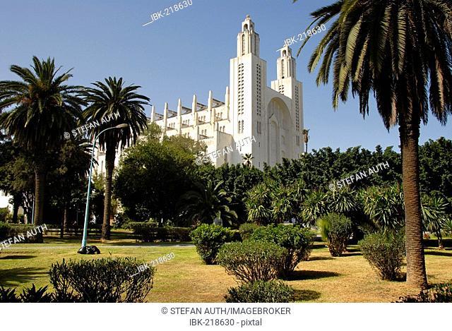 Cathedrale du Sacre Coeur Cacablanca Morocco