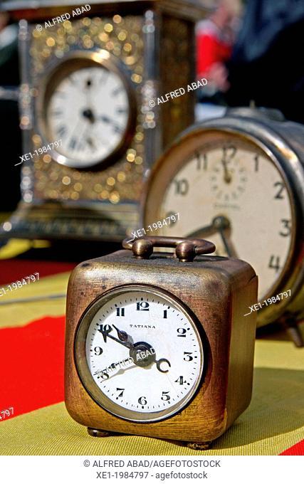 Case clocks, antiques