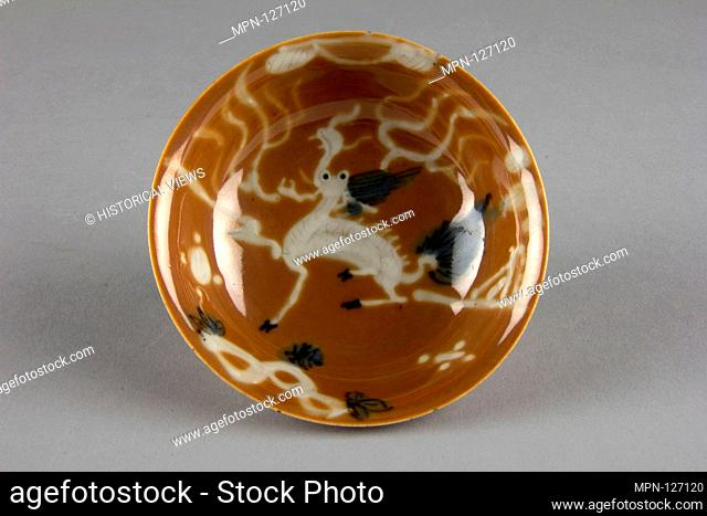 Bowl. Period: Qing dynasty (1644-1911), Yongzheng period (?) (1723-35); Culture: China; Medium: Porcelain; Dimensions: H. 1 in. (2.5 cm); Diam
