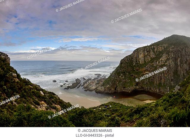 Seacove on Otter Hiking Trail, Western Cape Province, South Africa
