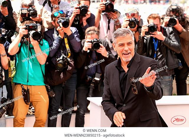 69th Cannes Film Festival - 'Money Monster' - Photocall Featuring: George Clooney Where: Cannes, France When: 12 May 2016 Credit: WENN.com