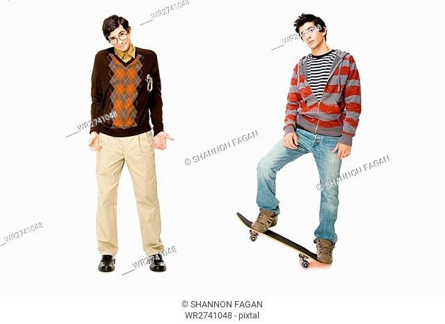 Geek and skater