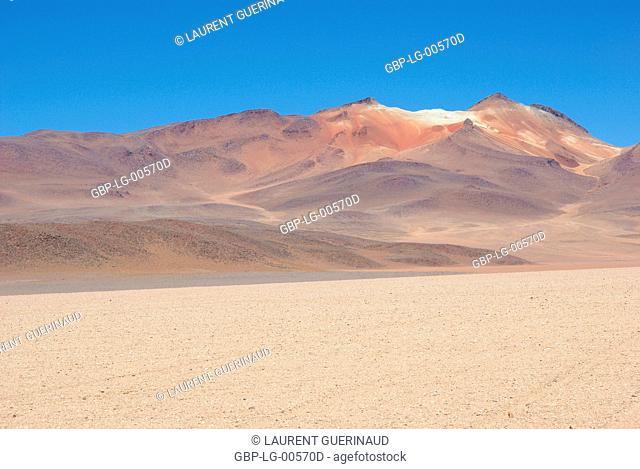 Desert of Of there, Eduardo Abaroa Reserves National of Andean Fauna, Lipez Desert, Department of Potosi, Sud Lipez Province, La Paz, Bolívia