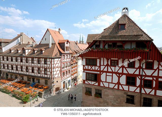 Nuremburg's old town,Germany