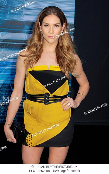 """Allison Holker 03/22/2017 """"""""Power Rangers"""""""" Premiere held at the Westwood Village Theater in Westwood, CA Photo by Julian Blythe / HNW / PictureLux"""