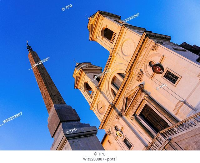 Piazza di Spagna; Rome; Italy