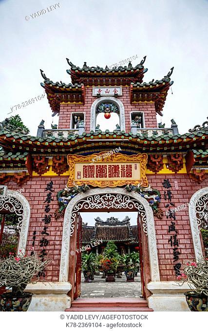 Fukian Assembly Hall (Phuc Kien) pagoda, Hoi An, Vietnam