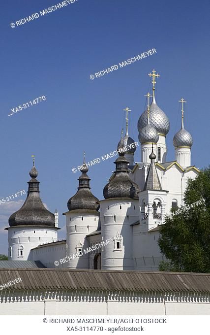 Resurrection of Christ Gate Church, Kremlin, Rostov Veliky, Golden Ring, Yaroslavl Oblast, Russia