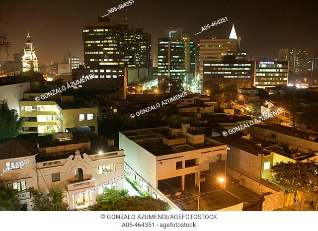 San Isidro area. Lima. Perú