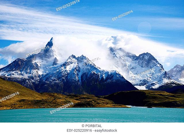 patagonia mountain in chile