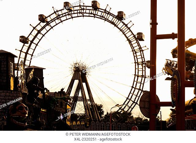 Prater, Riesenrad, Giant Ferry Wheel, Vienna, Austria, 2. district