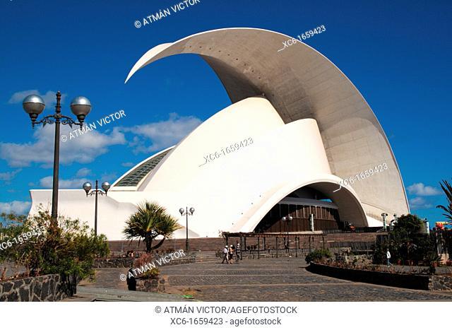 auditorium in Santa Cruz de Tenerife