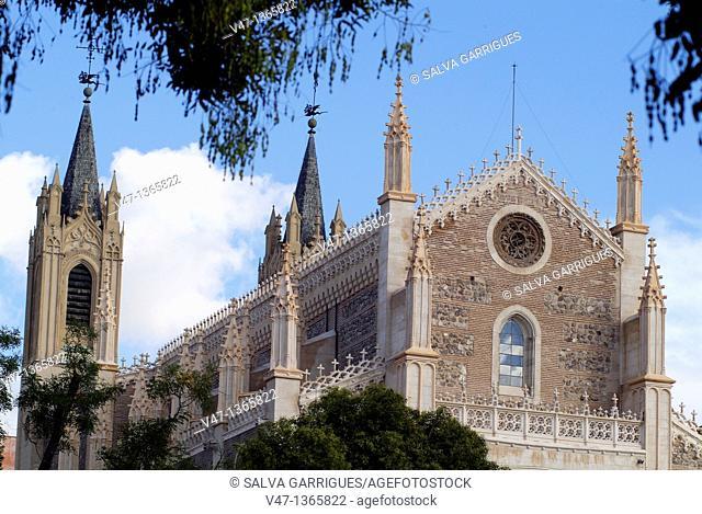 Parroquia de San Jeronimo El Real, Madrid, Spain