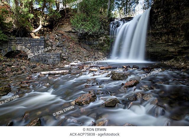 Hilton Falls, Hilton Falls Conservation Area, Milton, Ontario, Canada