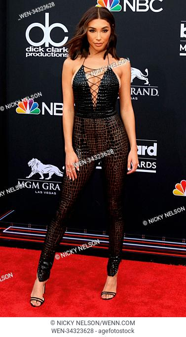 2018 Billboard Music Awards at MGM Grand Garden Arena - Arrivals Featuring: Chantel Jeffries Where: Las Vegas, Nevada, United States When: 20 May 2018 Credit:...