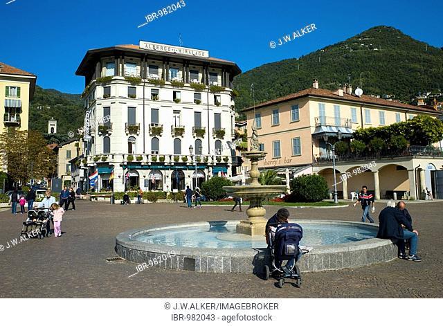 Albergo Miralago Hotel, Cernobbio, Como province, Lake Como, Italy, Europe