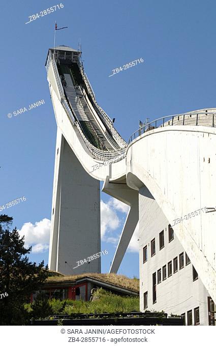 Holmenkollen National Arena, Oslo, Norway, Europe