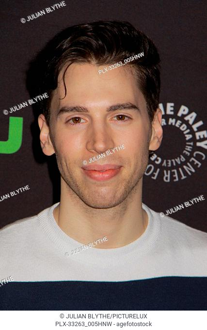 """Jordan Gavaris 03/23/2017 PaleyFest 2017 """"""""Orphan Black"""""""" held at The Dolby Theatre in Hollywood, CA Photo by Julian Blythe / HNW / PictureLux"""