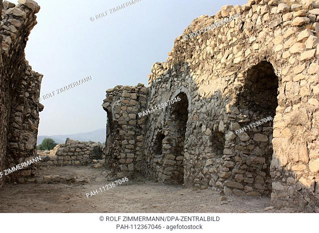 Iran - Bishapur (city of Shapur) was a Sasanian residence city. It is located in the province of Fars. It was built by captured Roman legionaries