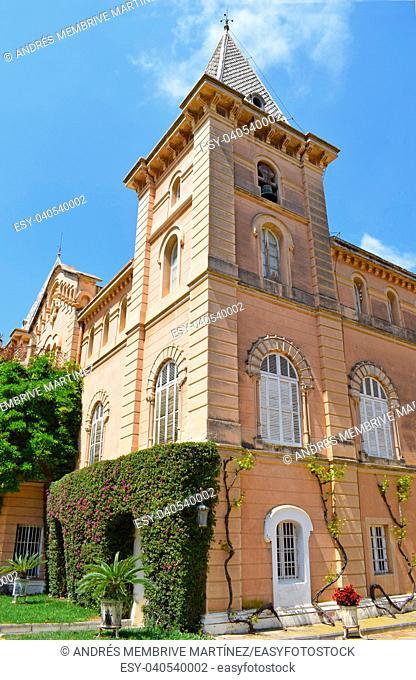 Casa Marqués de Marianao, Public park in Tarragona. Spain
