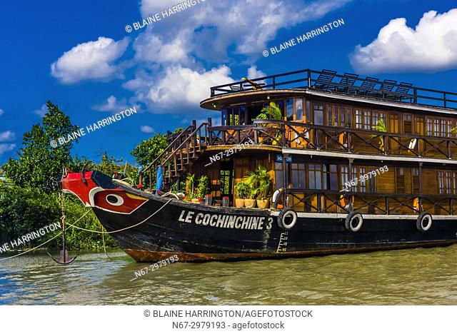Ba Rai River, near Dong Hoa Hiep (Can Be), Mekong Delta, Vietnam