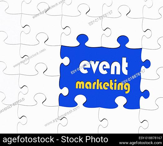 Event Marketing - Business Konzept