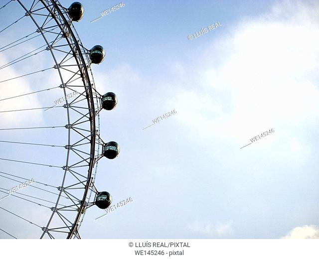 London Eye, detail