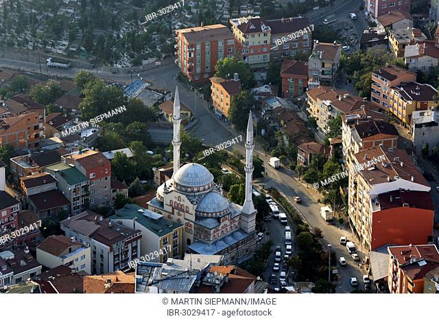 Imami Azam Sefa Mosque, view from Istanbul Sapphire