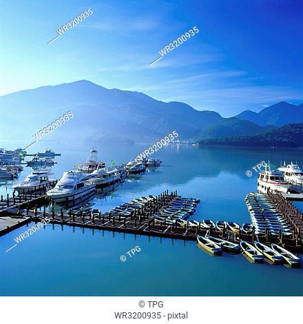 Shuishe Pier; Sun Moon Lake