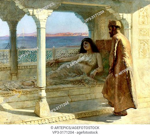 Weeks Edwin Lord - the Doctor's Visit - 1001 Nights